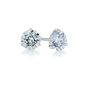 0.33ct tw Diamond & Platinum Stud Earrings