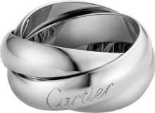 TRINITY RING, LM CARTIER